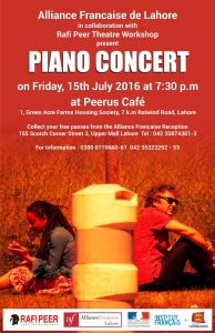 Piano concert @ Peerus Cafe