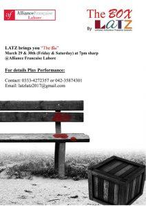 The Box @ Alliance Francaise Lahore | Lahore | Punjab | Pakistan