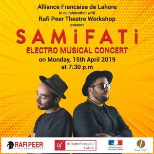 SamiFati @ Rafi Peer Cultural Centre (Peeru's Cafe)   Lahore   Punjab   Pakistan