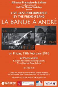 Jazz concert @ Peerus Cafe
