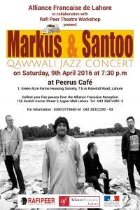 Markus & Santoo @ Peerus Cafe