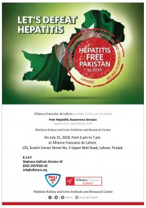 Hepatitis free Pakistan @ Alliance Francaise  Lahore | Lahore | Punjab | Pakistan